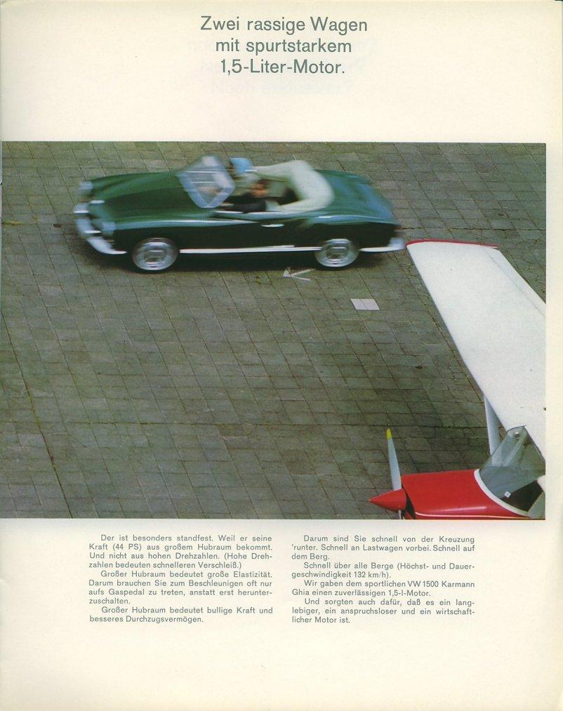 TheSamba.com :: 1967 VW Karmann Ghia Sales Brochure - German