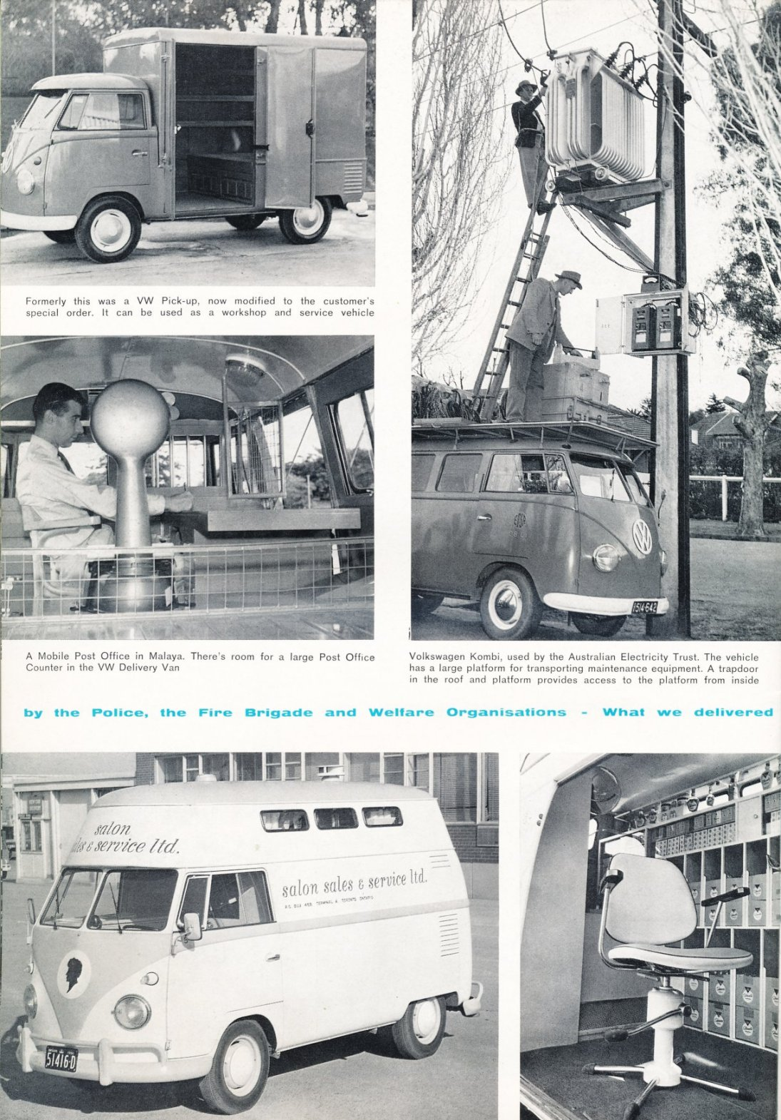 TheSamba.com :: VW Archives - Bus Special Models article from 1963 ...