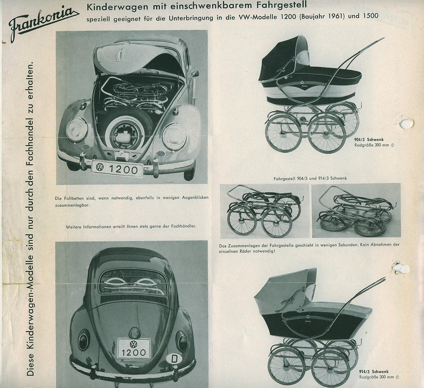 thesamba com vw archives frankonia baby carriage german