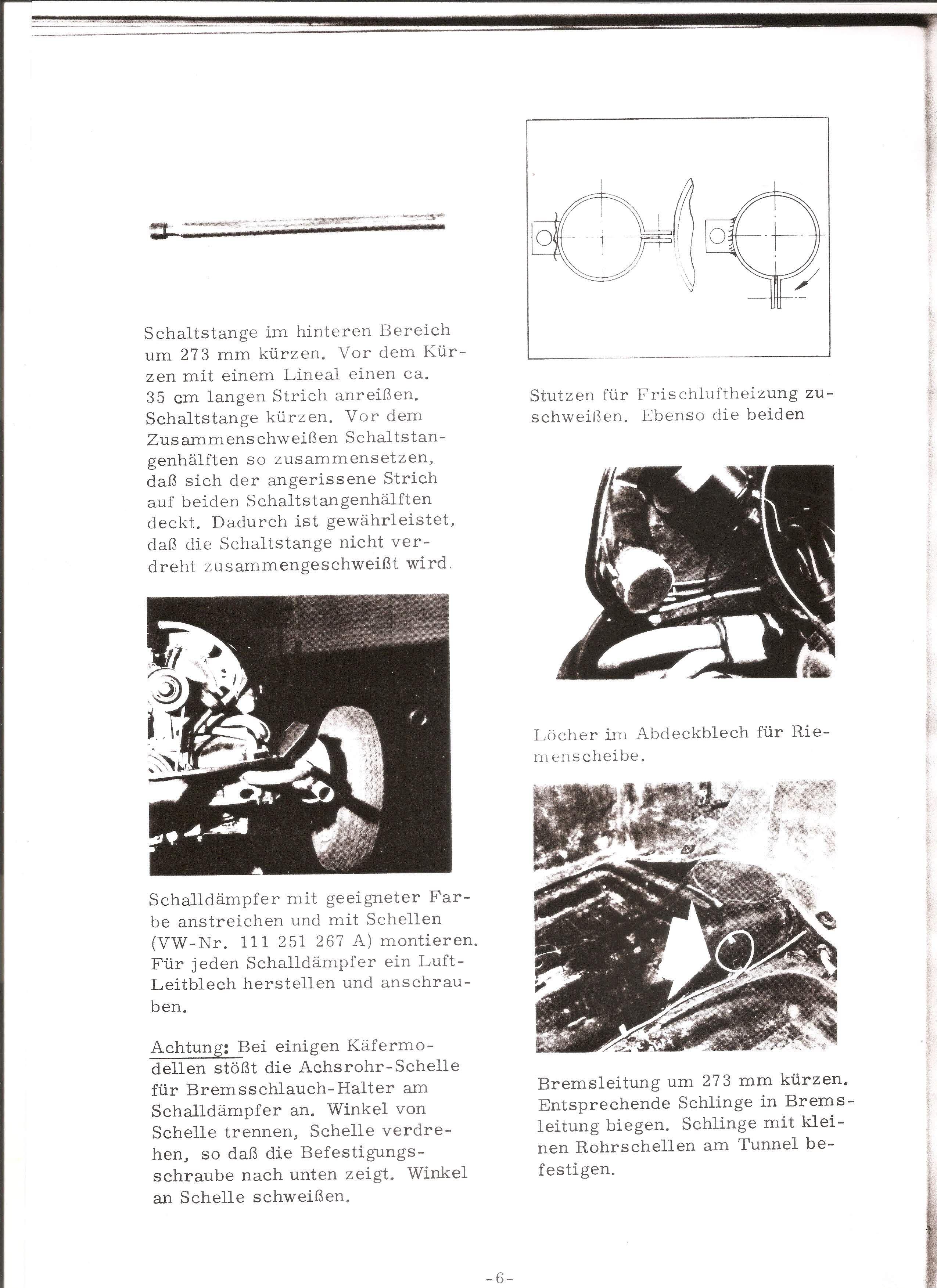 TheSamba.com :: VW Archives - Karmann Ghia GF Buggy Instructions ...