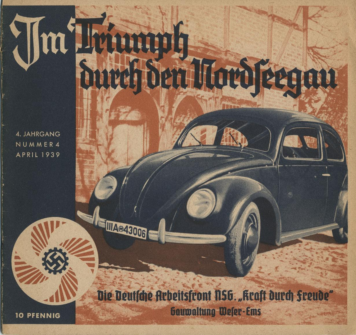 Thesamba Com Vw Archives 1939 Kdf Wagen Brochure German