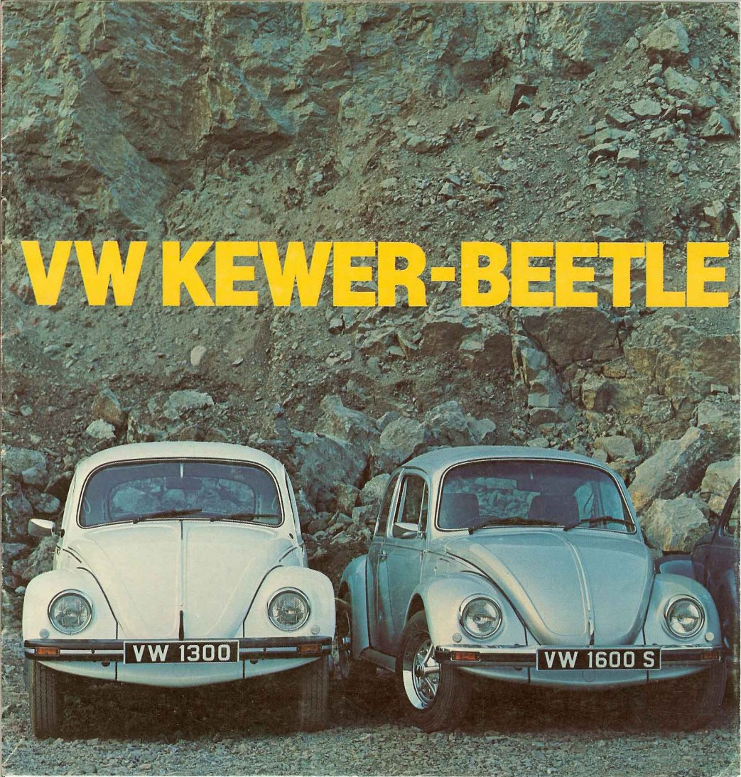 vw archives 1977 kewer beetle brochure. Black Bedroom Furniture Sets. Home Design Ideas