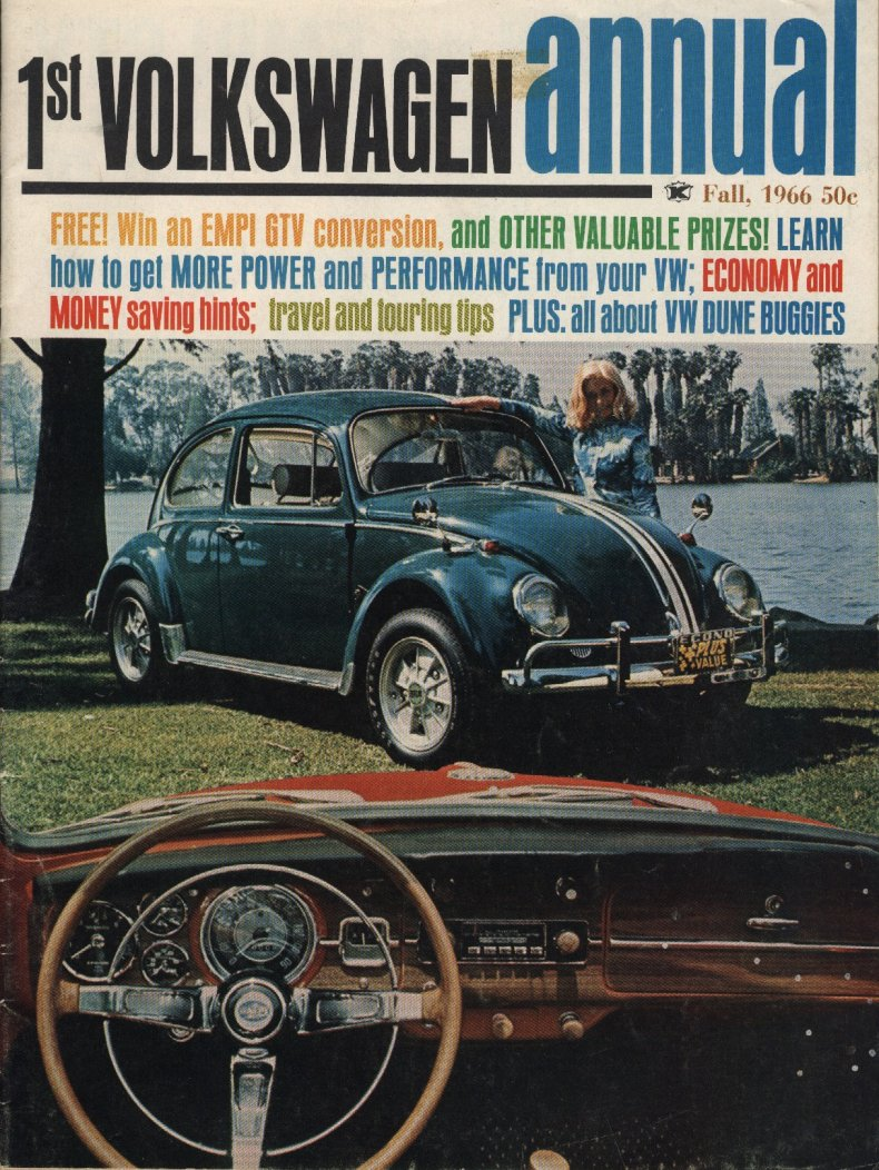 1st Volkswagen Annual - from