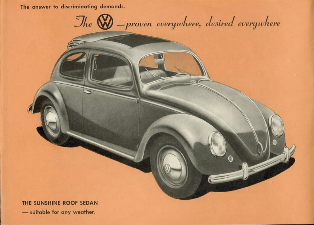 Vw archives 1951 split window beetle for 1951 volkswagen split window