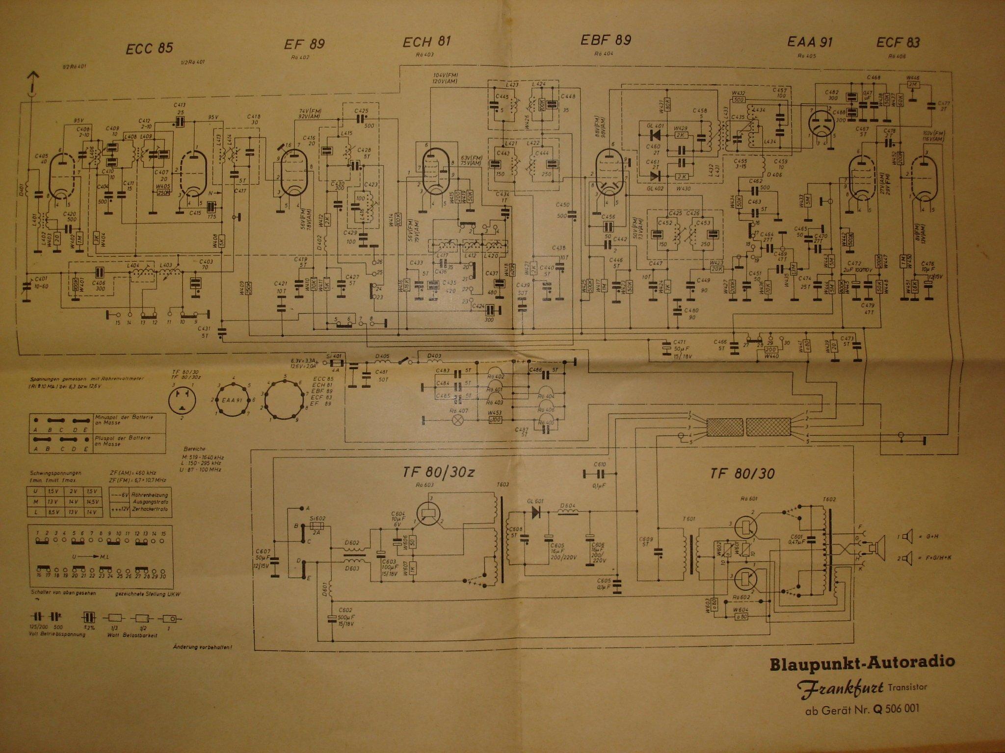 1959 60 blaupunkt frankfurt radio. Black Bedroom Furniture Sets. Home Design Ideas