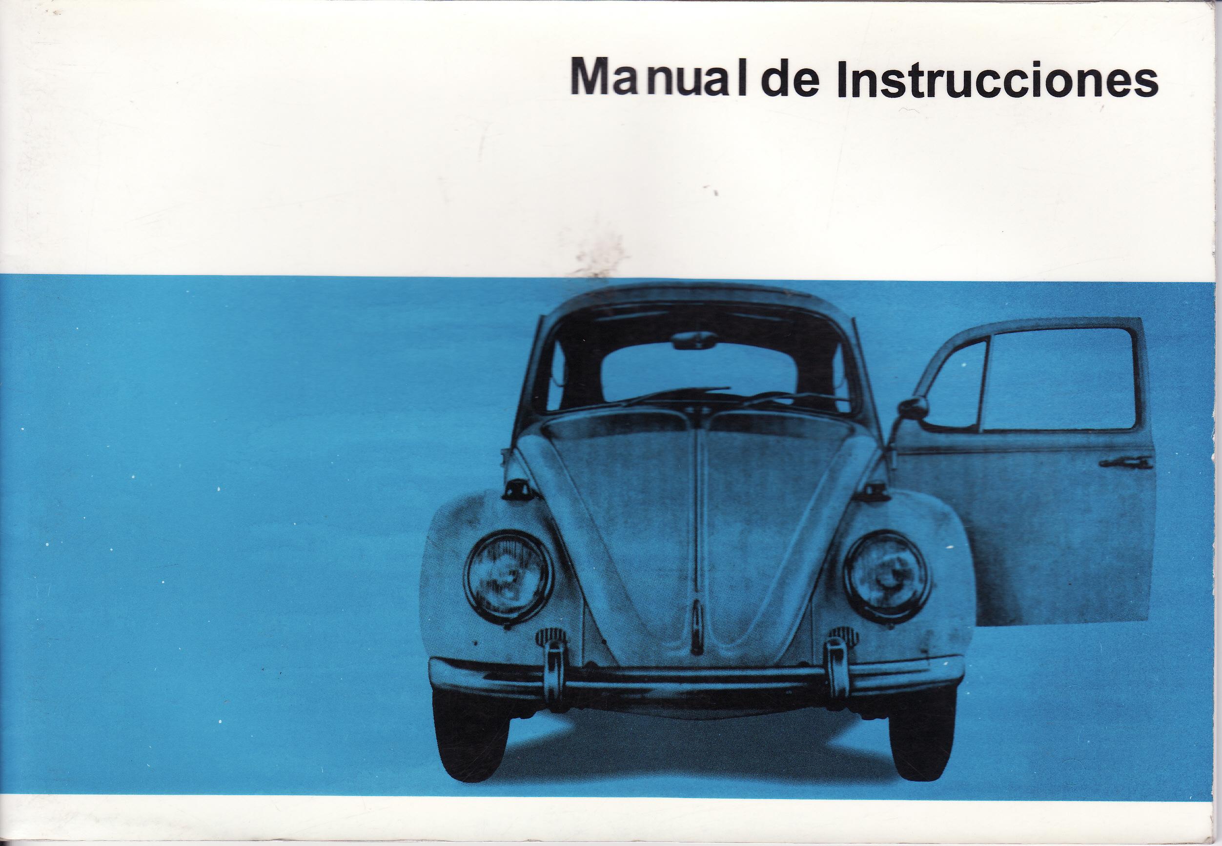Saludos desde Zaragoza, Vw Escarabajo 1967 Cover