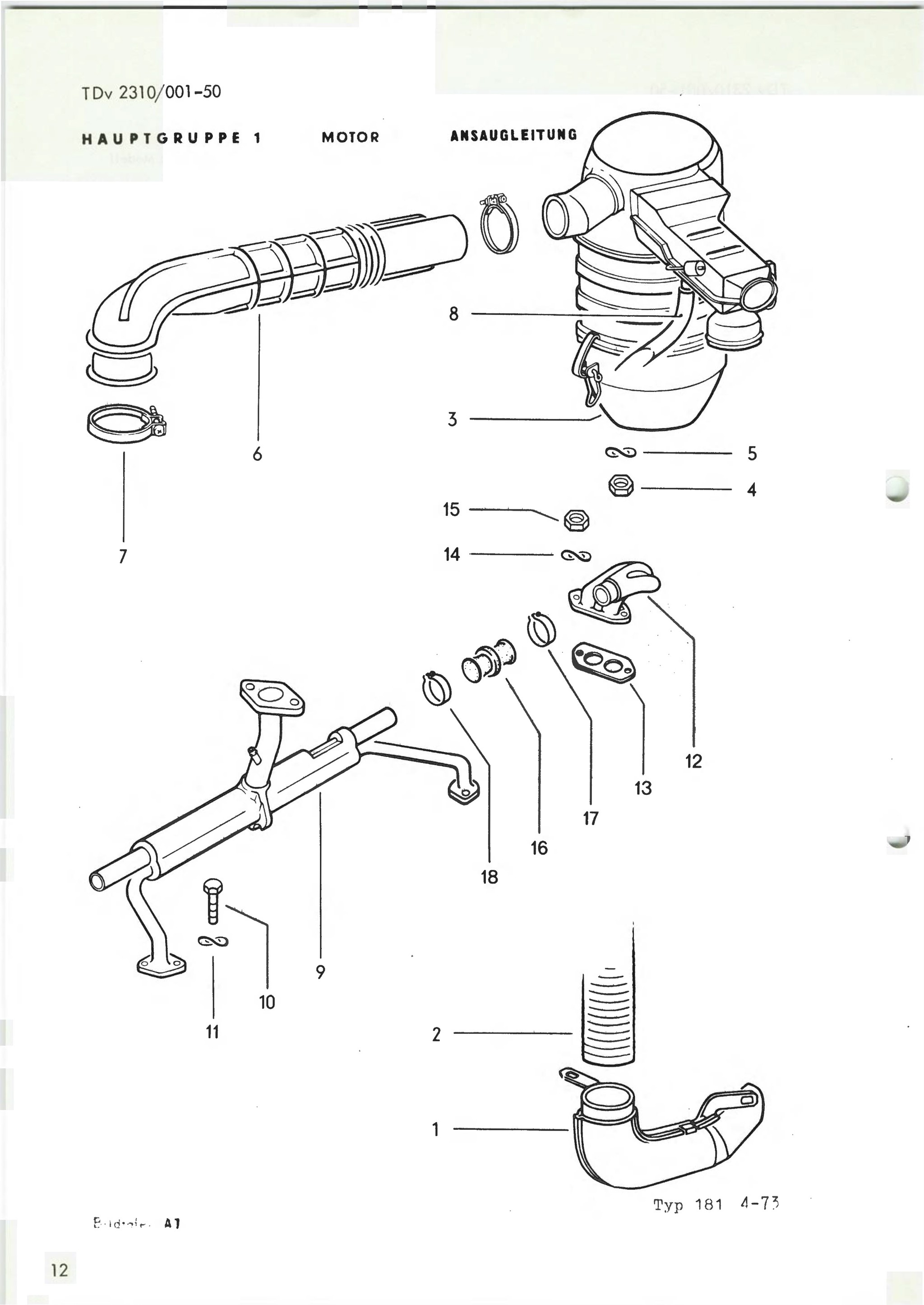 vintage volkswagen parts catalog