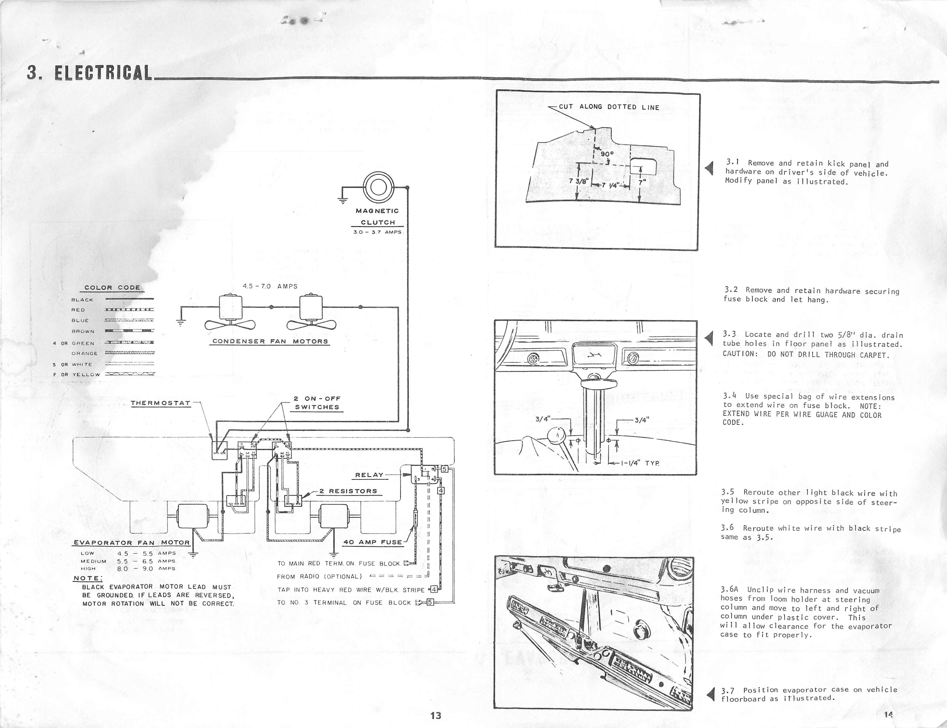 1979 vw bus dpd under dash air conditioner. Black Bedroom Furniture Sets. Home Design Ideas