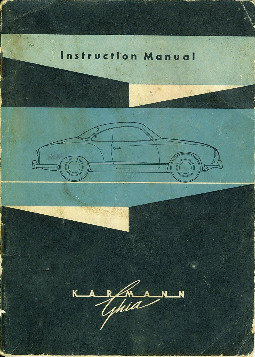Karmann ghia service manual download