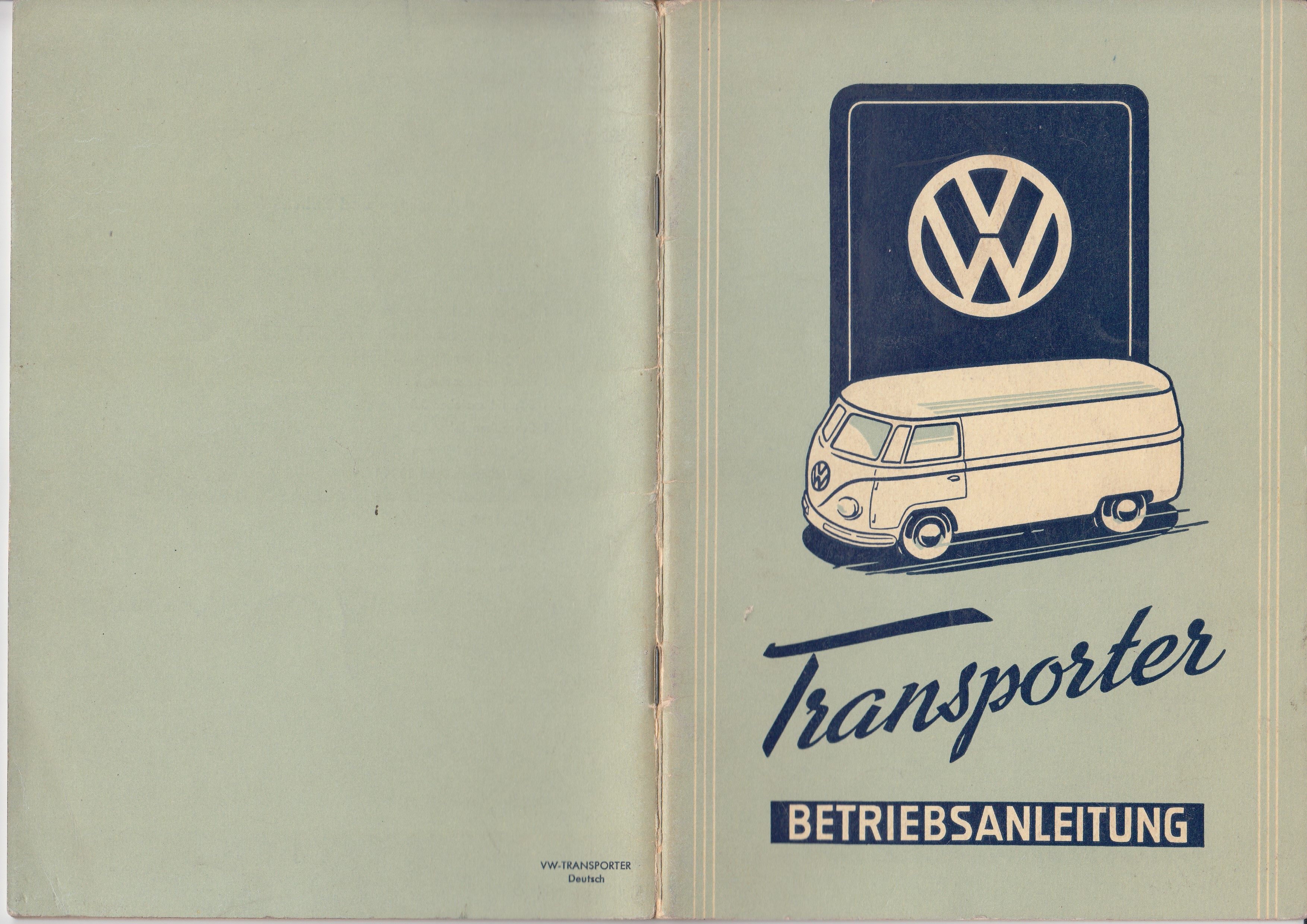 TheSamba.com :: March, 1952 VW Bus Owner\'s Manual - German