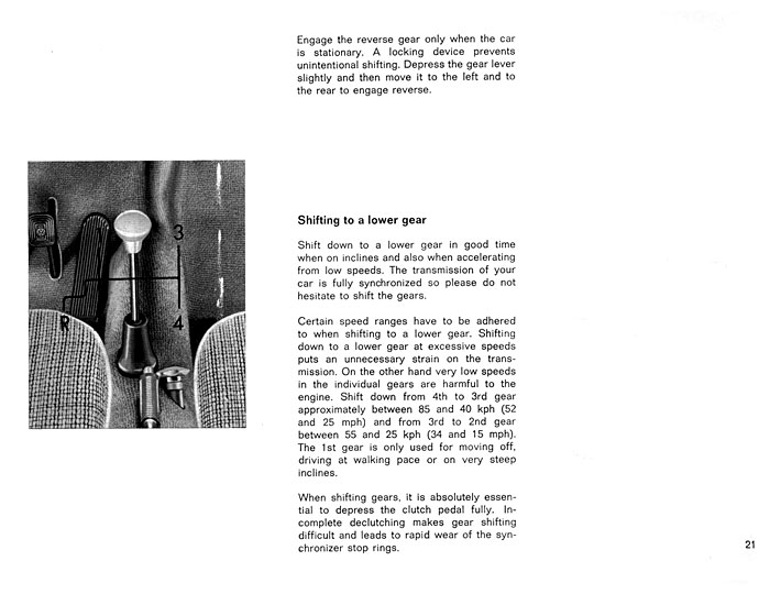 TheSamba com :: 1963 August 1962 Type 3 Owner's Manual