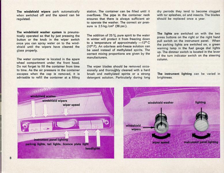 TheSamba com :: 1965 Type 3 S Model Owner's Manual