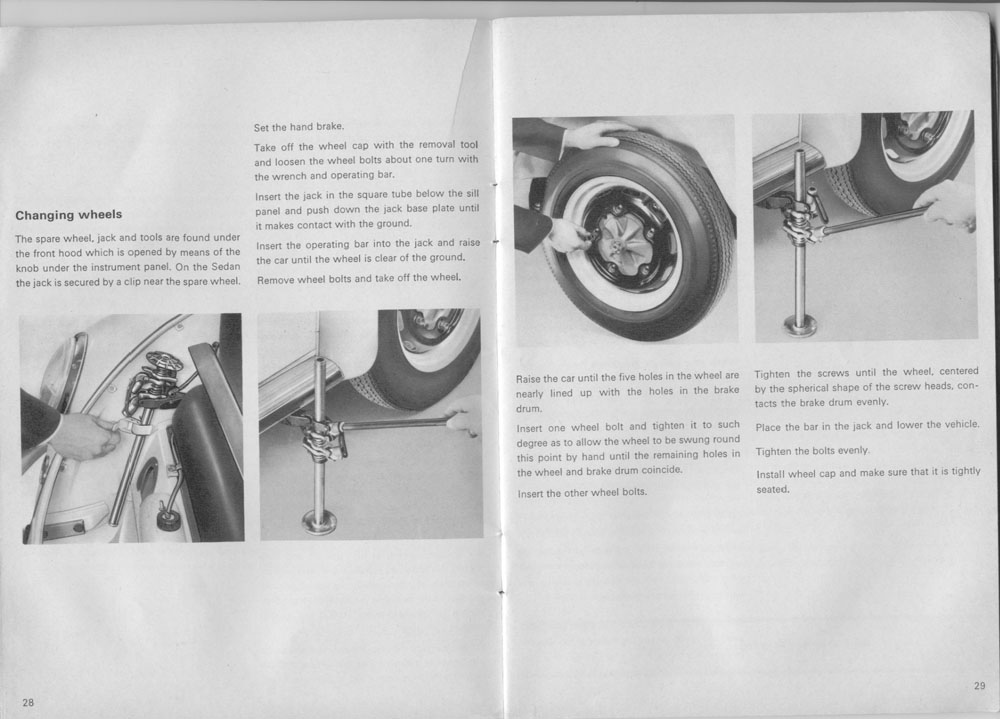 thesamba com 1966 august 1965 bug owners manual rh thesamba com 1969 VW Beetle 1966 volkswagen beetle owners manual