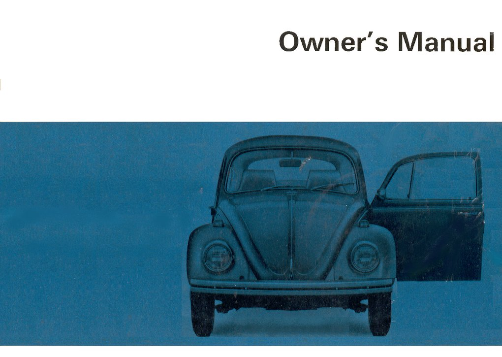 thesamba com 1968 beetle owner s manual rh thesamba com 1968 vw beetle owners manual 1968 vw bug manual