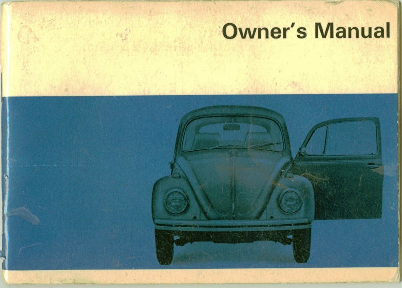 thesamba com 1969 bug owner s manual rh thesamba com vw owner's manual vw owners manual for sale