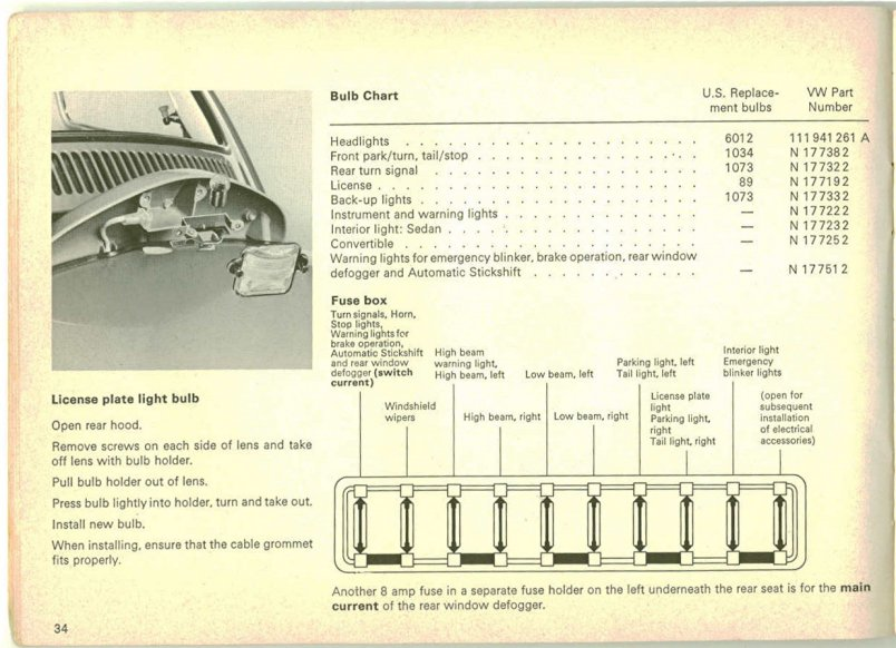 page34 thesamba com beetle late model super 1968 up view topic 69 vw bug fuse box at alyssarenee.co