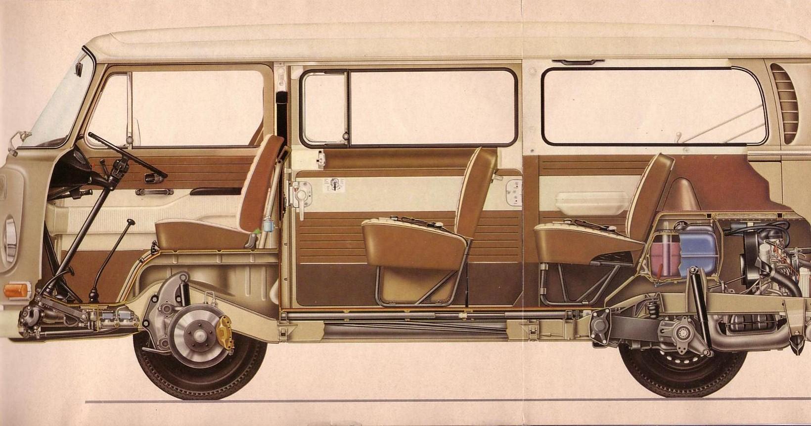 TheSamba.com :: Bay Window Bus - View topic - blueprints for VW Bus ...