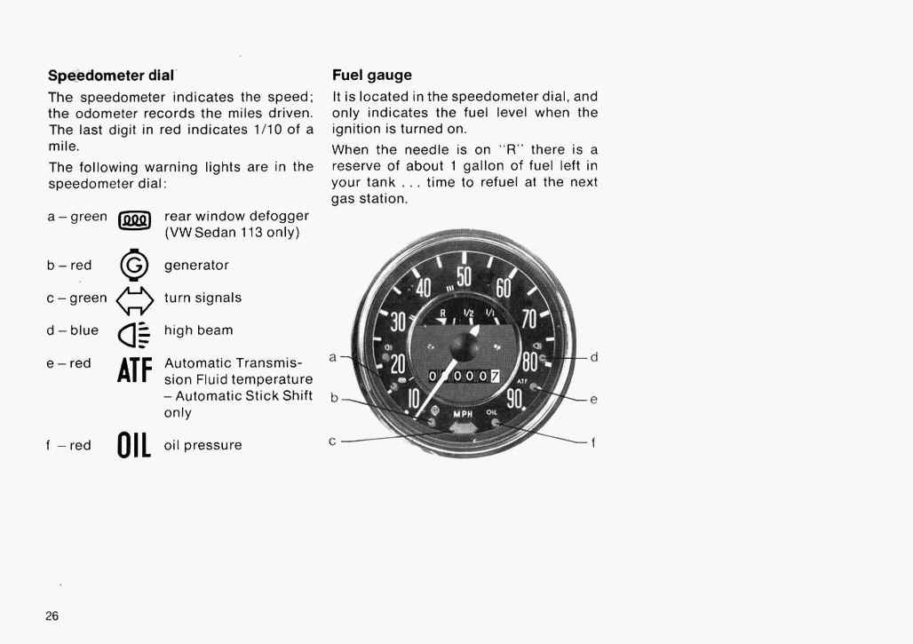 vdo gauge wiring in a volkswagen beetle  vdo  free engine