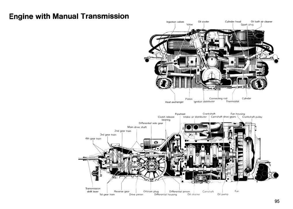 vw type 3 engine diagram