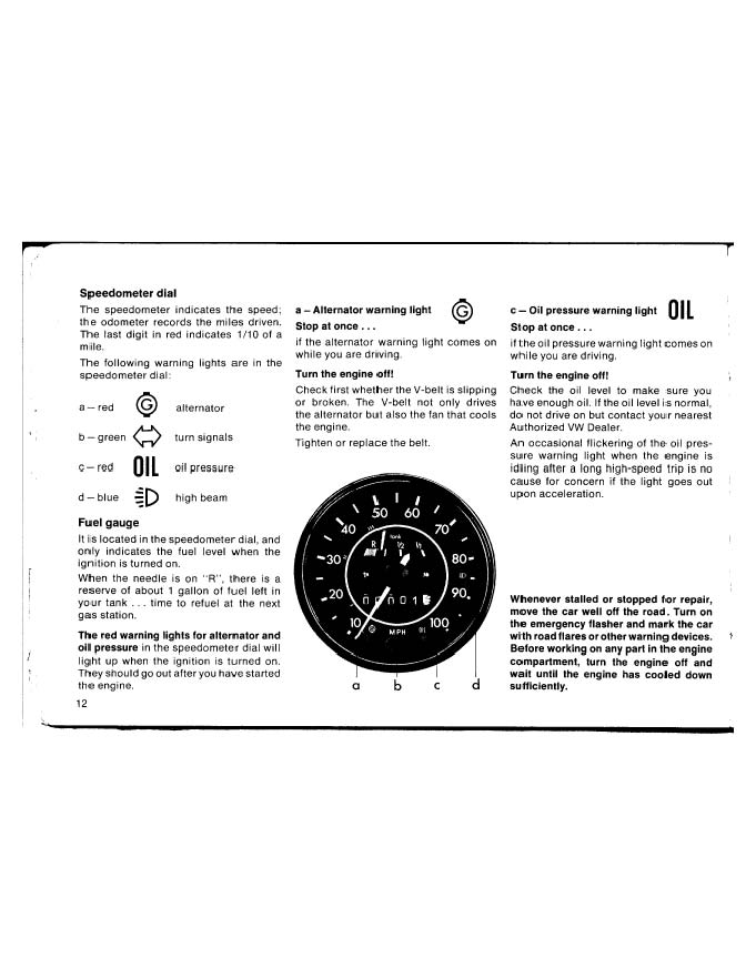 thesamba com    1973 owner u0026 39 s manual