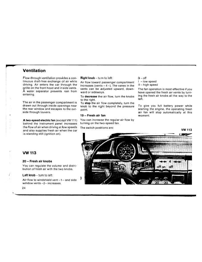 1973 vw beetle owners manual pdf