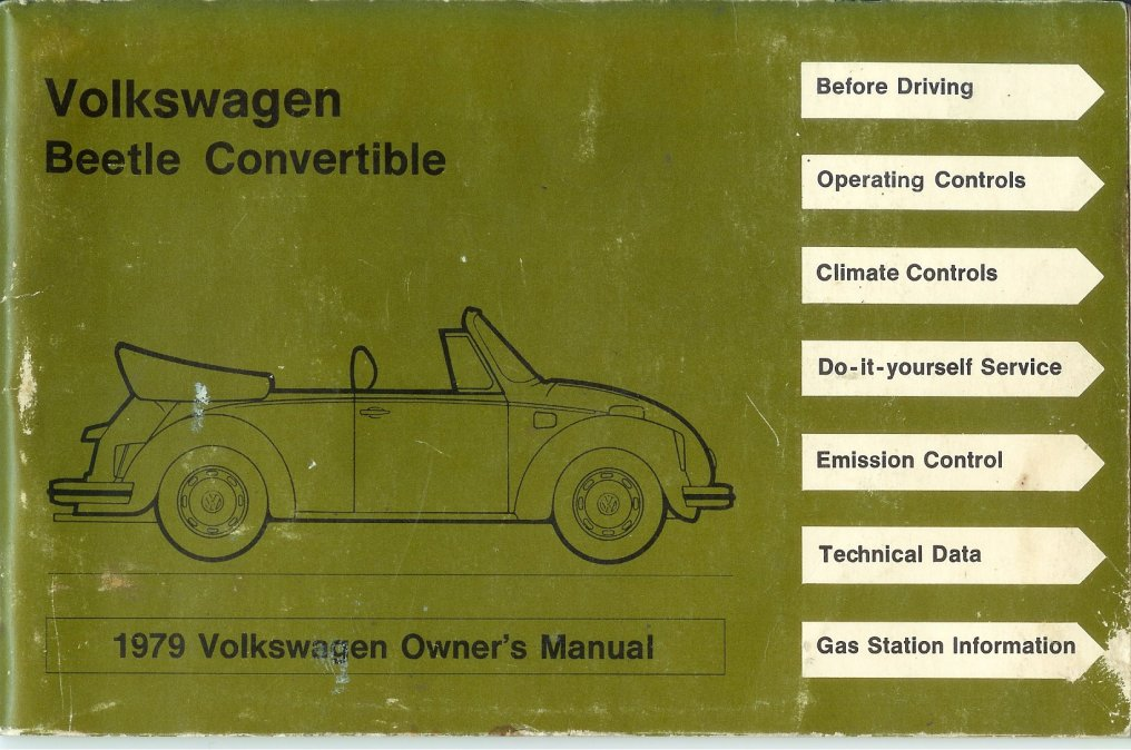 thesamba com 1979 beetle owner s manual rh thesamba com vw owners manual wvwek73c36p103413 vw owner's manual