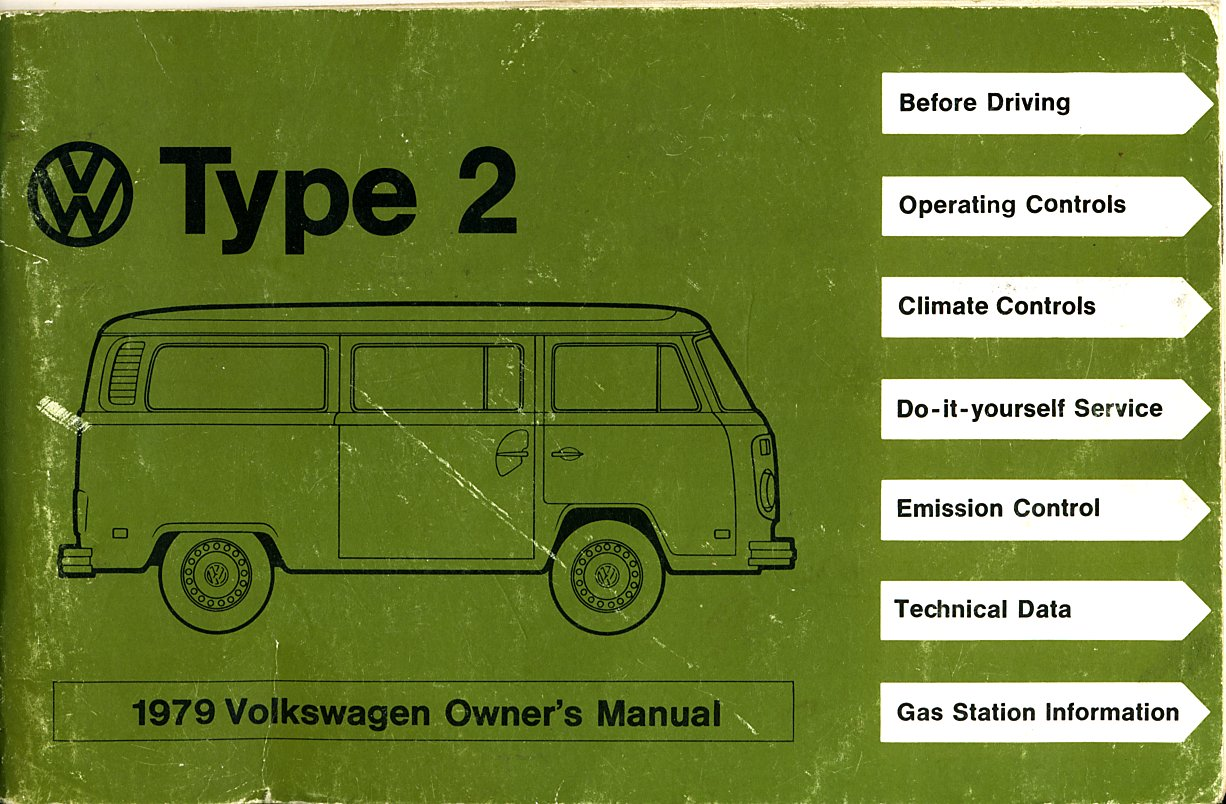 thesamba com 1979 vw bus owner s manual rh thesamba com vw owners manual for sale vw owners manual download
