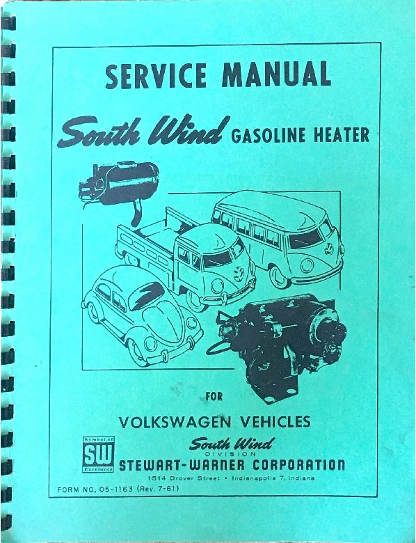 thesamba com heater and air conditioning manuals and instructions rh thesamba com VW Bug Air Conditioning Sharp Air Conditioner