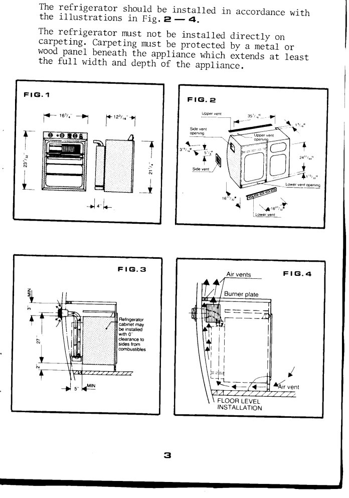 Dometic fridge Manuals