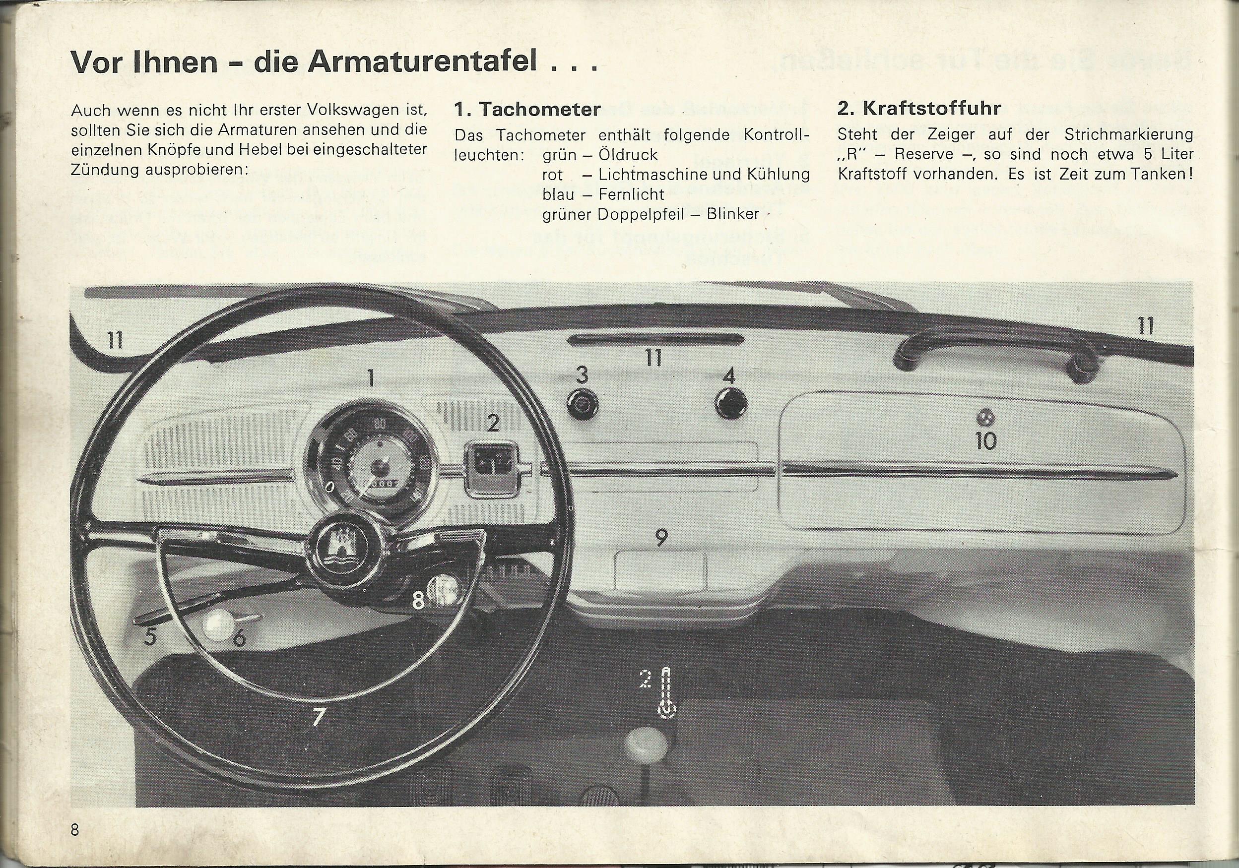 Cambiar velocímetro 1967 8