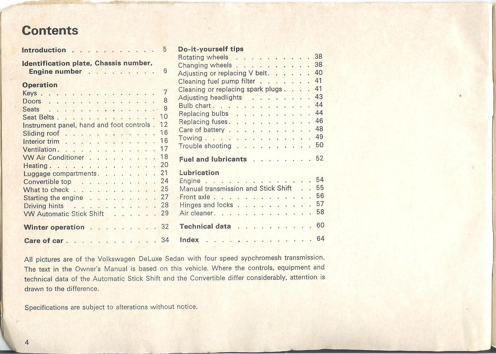 thesamba com 1970 vw beetle owner s manual rh thesamba com Operators Manual Cartoon Manual