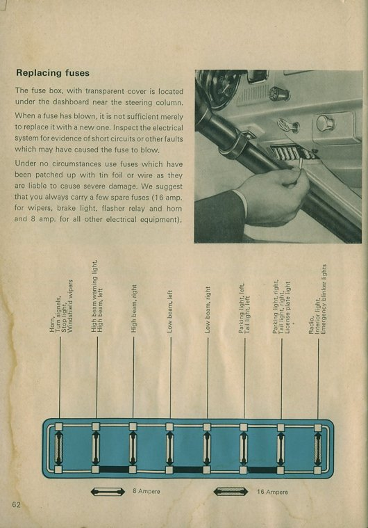 page62 thesamba com beetle 1958 1967 view topic 12v converted 66 fuse box dangers at n-0.co