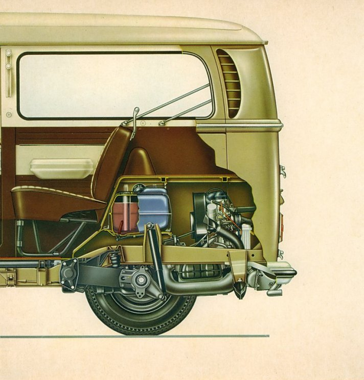 Classic Vw Beetle Tool Kit: TheSamba.com :: 1969 August 1968 Bus Owner's Manual