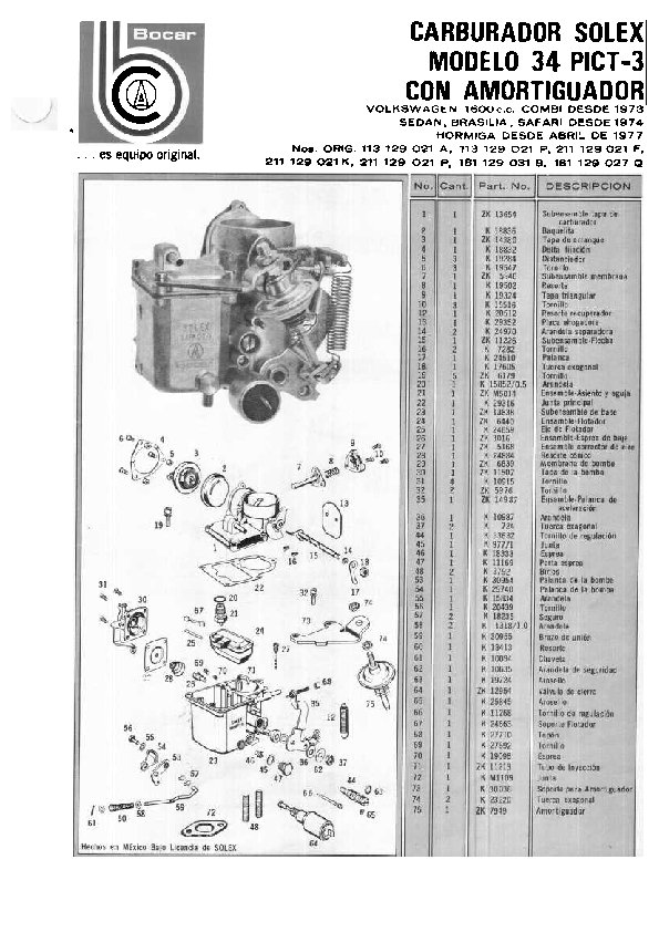 TheSamba.com :: Carburetor ManualsThe Samba