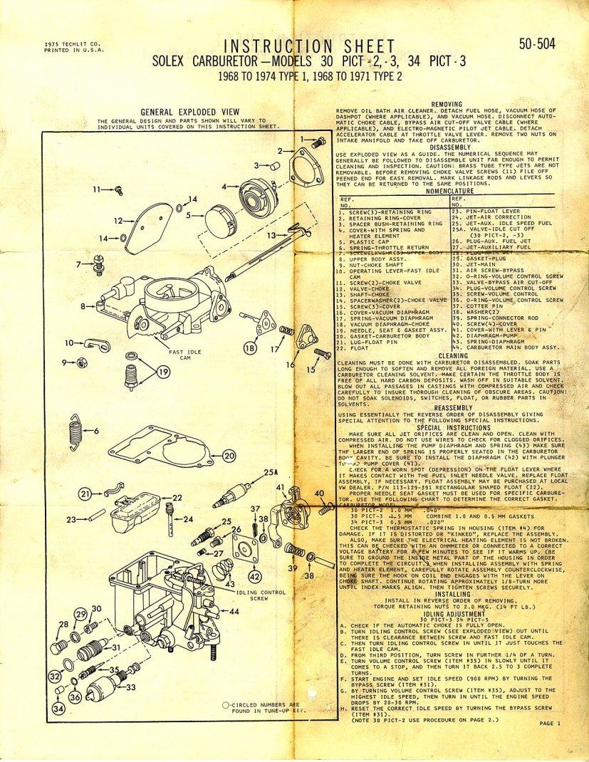 Broso in addition Pict B also Bocar Pict Mexico moreover Page T moreover Leftcarbinside. on 34 pict 3 vw carburetor