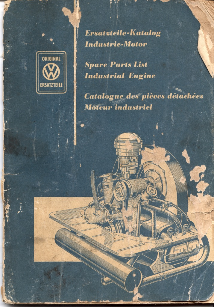 TheSamba com :: July, 1956 VW Industrial Engine Parts List