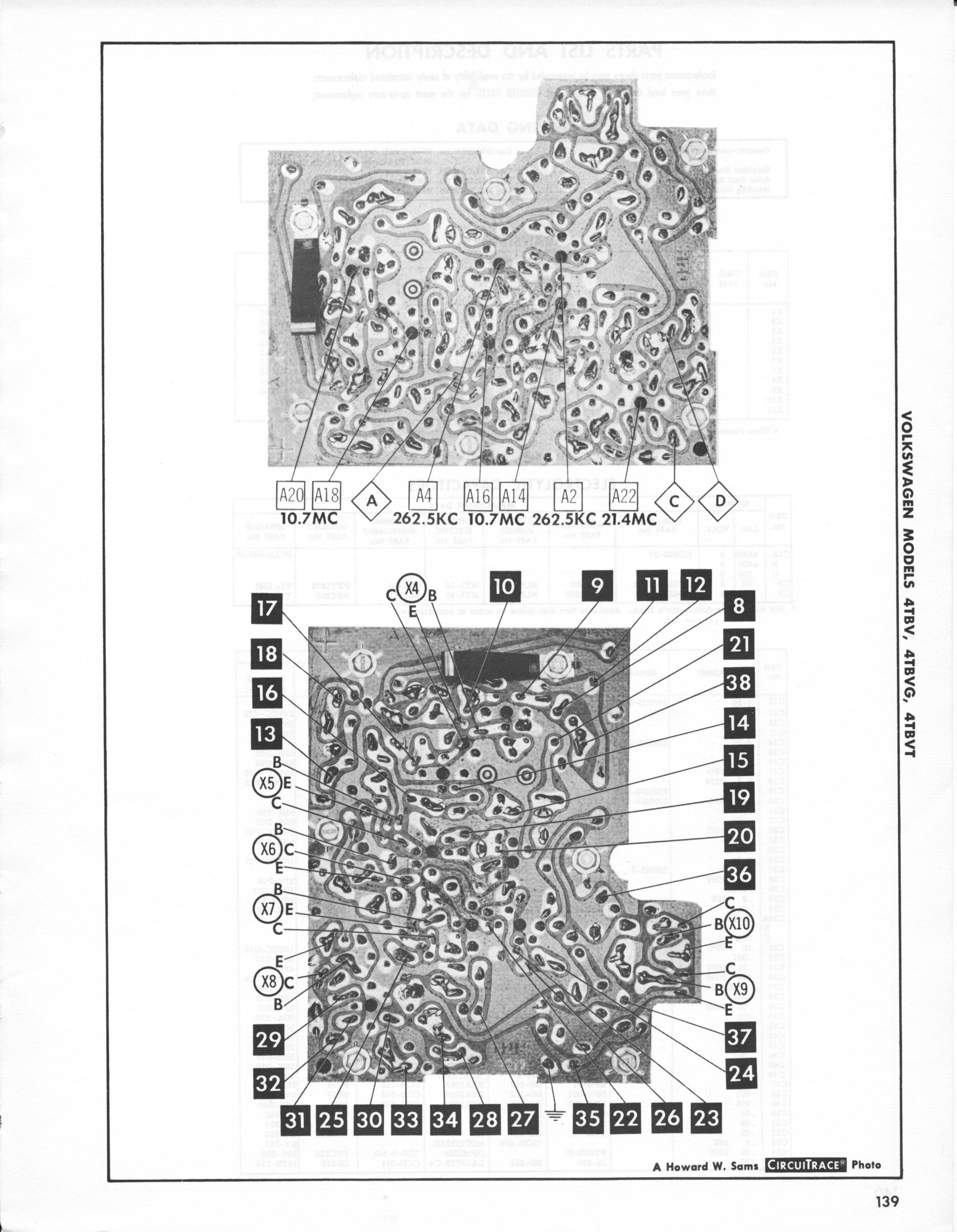 thesamba com    1964 sapphire ii  sapphire i photofact