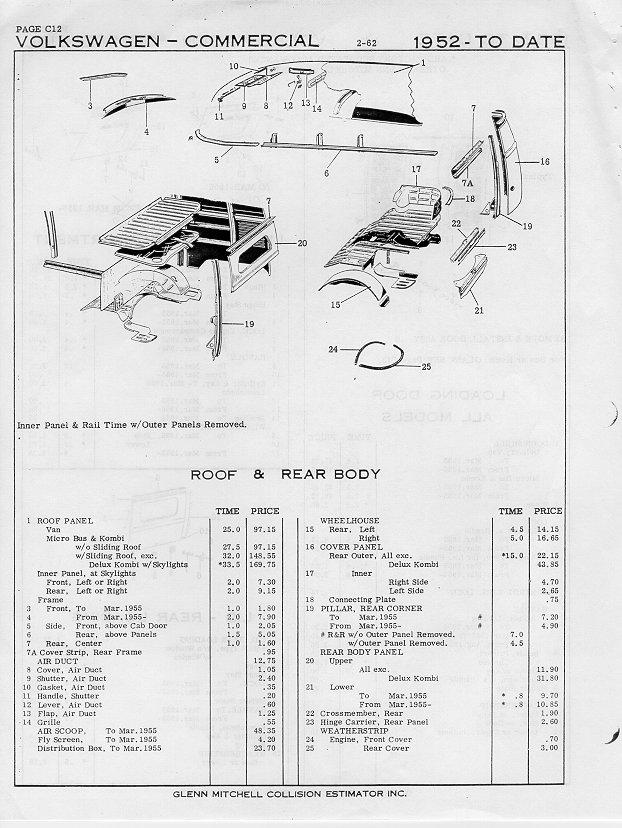 thesamba com    1962 volkswagen bus collision repair guide