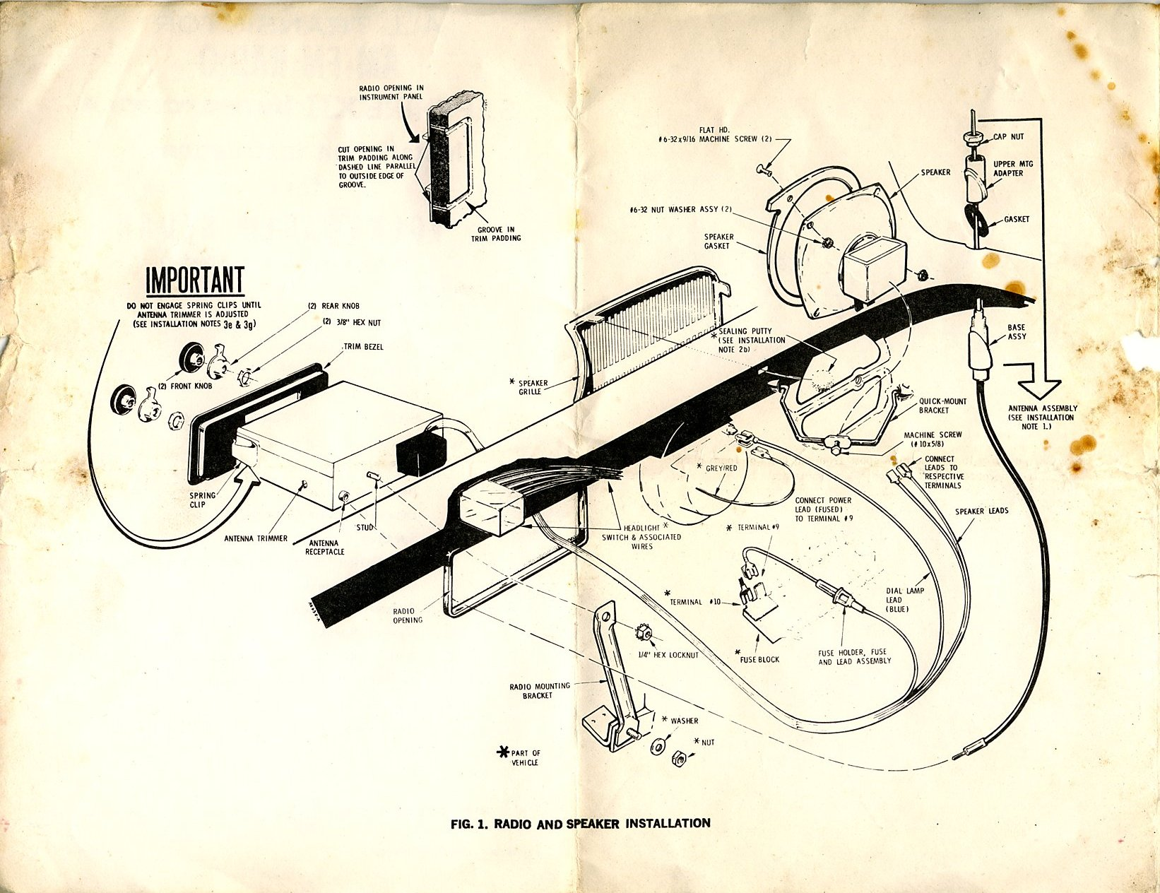 Vw Beetle Radio Wiring Diagram Schematics Polo Thesamba Com Late Model Super 1968 Up View Topic 2001 Engine