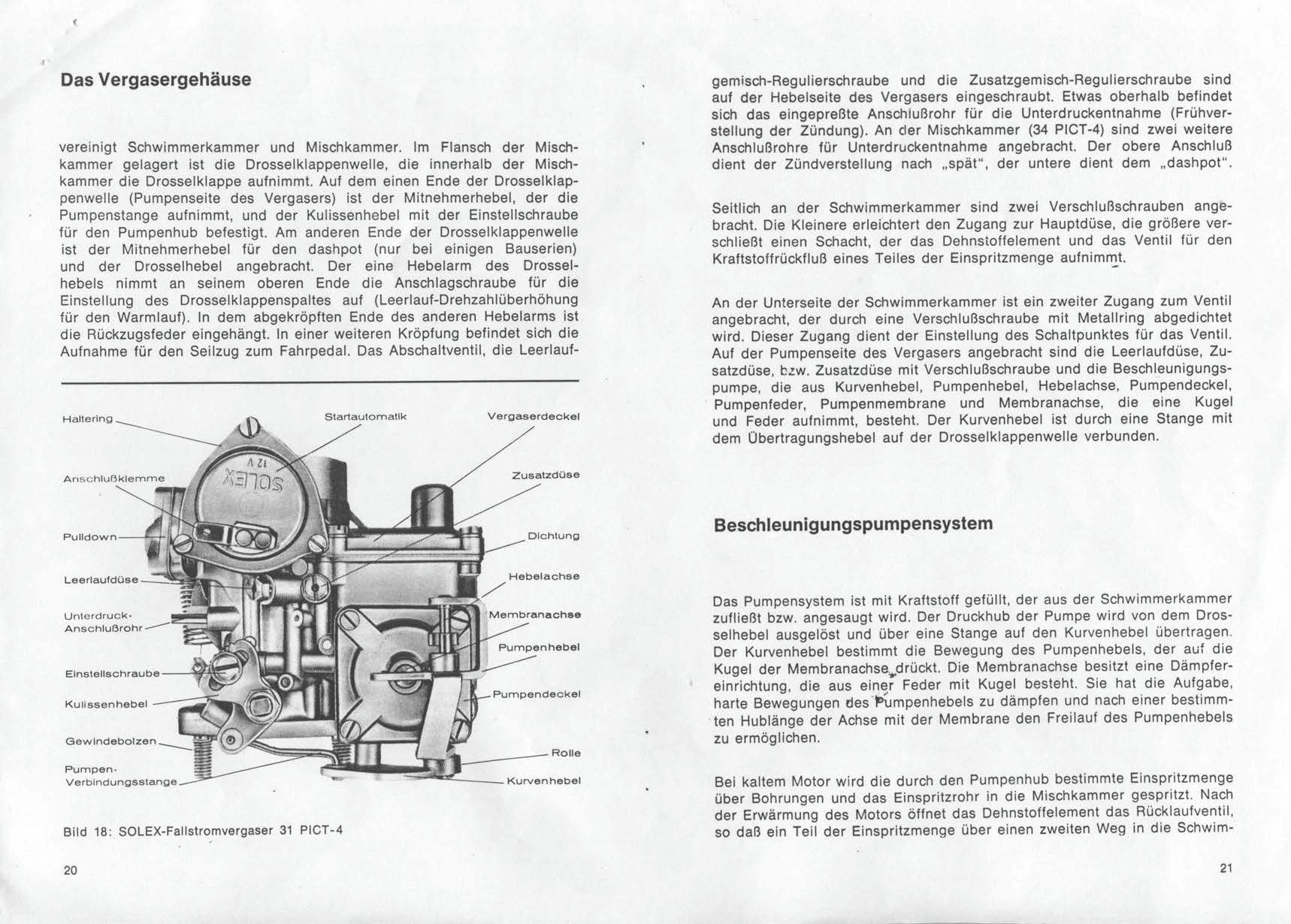 Thesamba Com    Solex Carburetor Manual - 30-34 Pict3    31-34 Pict-4