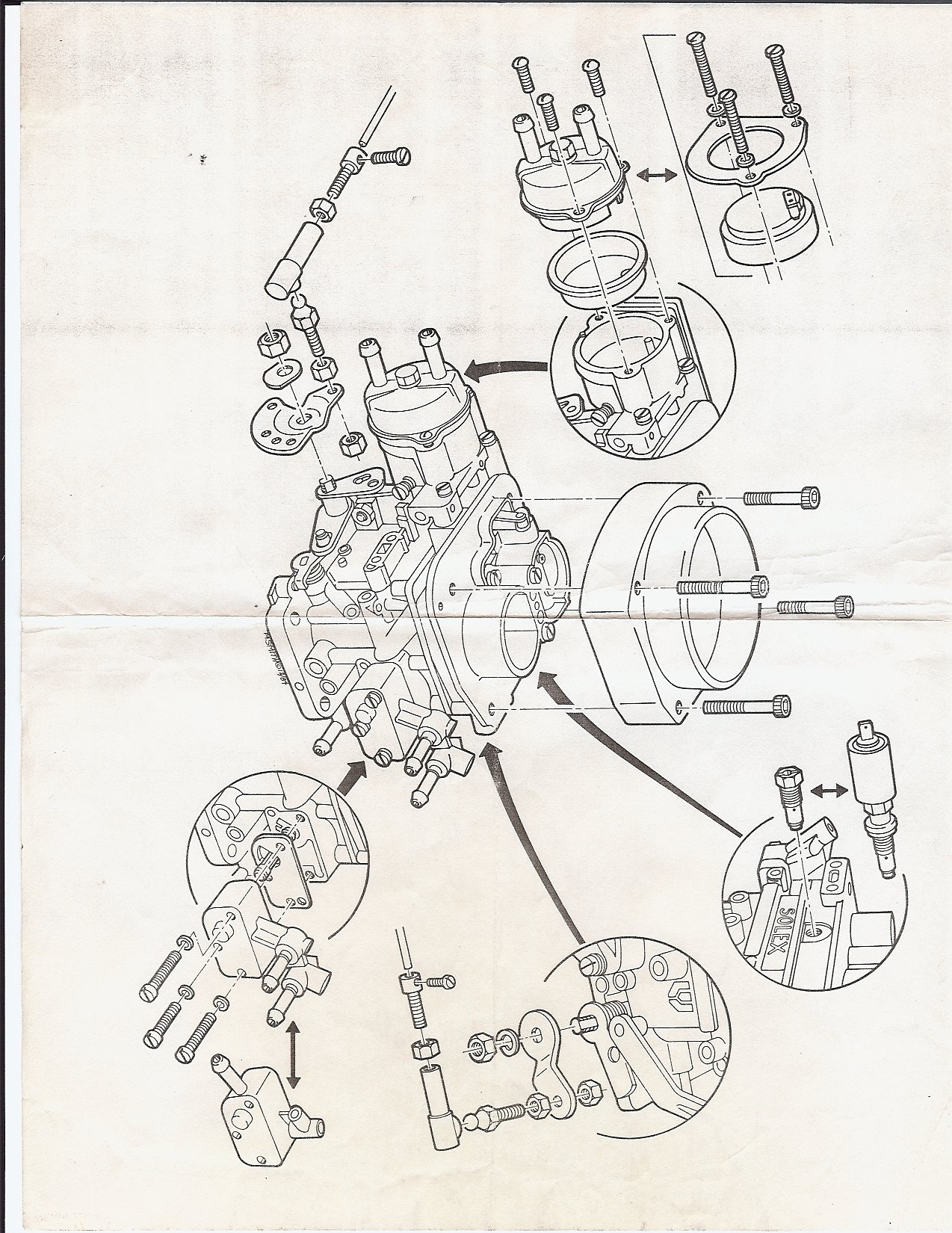 thesamba solex 34 tcic carburetor installation manual