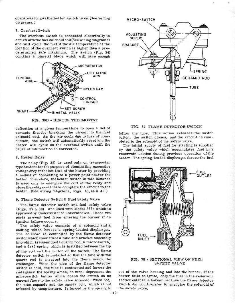February 1970 Stewart Warner Gas Heater Service Fuel Gauge Wiring Diagram Manual Bug And Bus