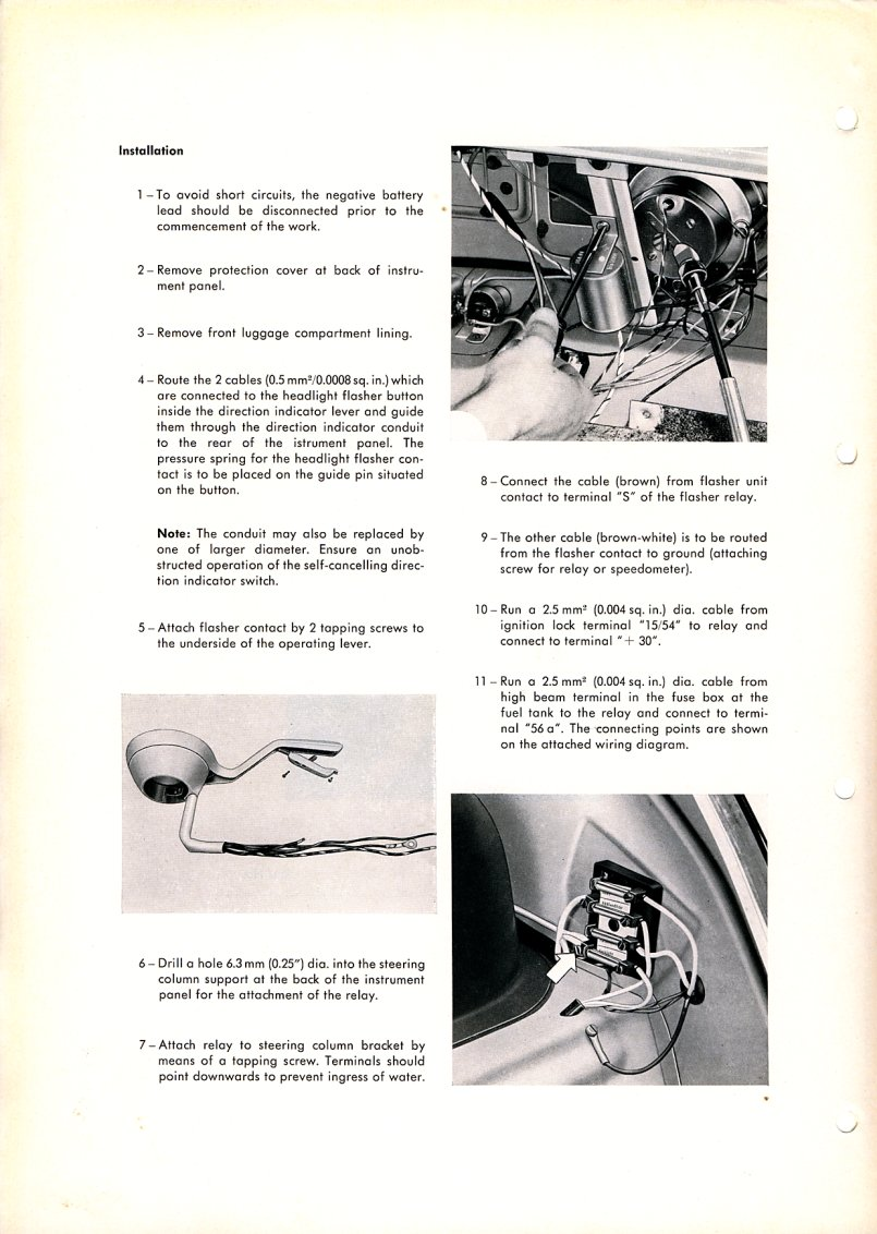 TheSamba.com :: Beetle - 1958-1967 - View topic - Wiring ... on