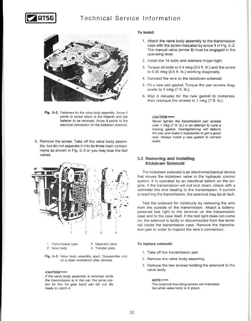 TheSamba com :: Techtran Volkswagen Automatic Transmission