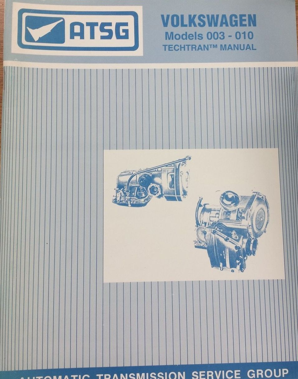 TheSamba.com :: Techtran Volkswagen Automatic Transmission Manual Models 003 -010