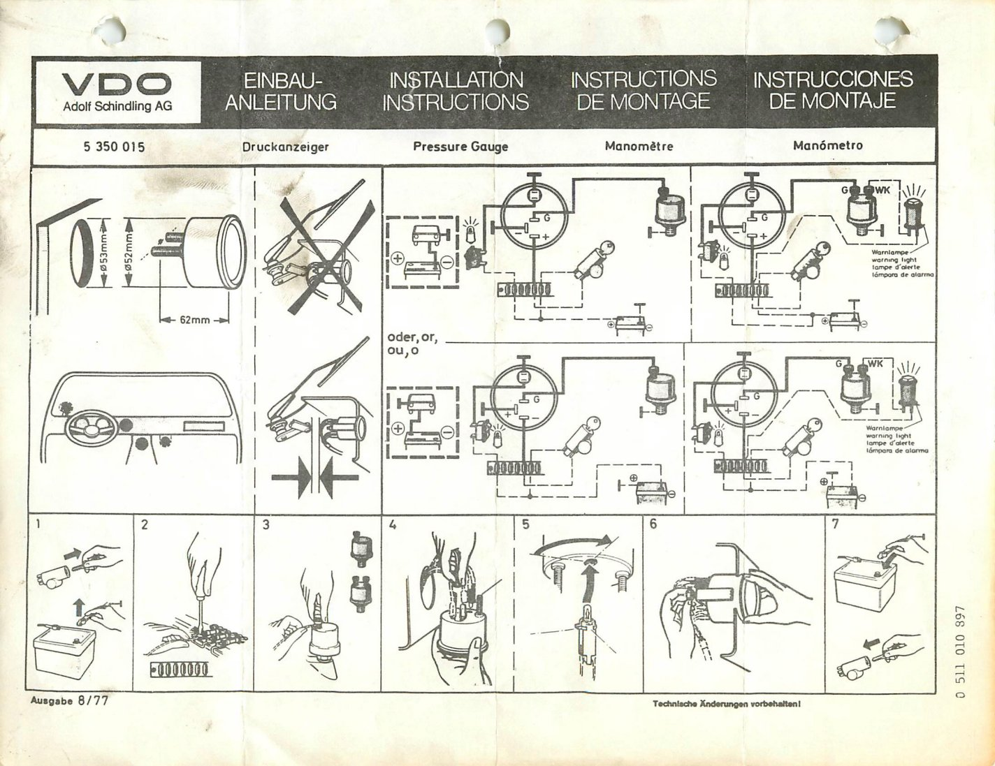 Vdo Oil Pressure Wiring Diagrams on boat fuel sending unit diagram