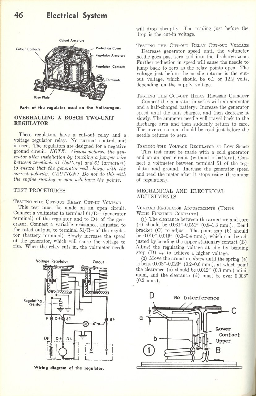 1969 Vw Beetle Voltage Regulator Wiring Diagram Solutions Generator Diy Diagrams