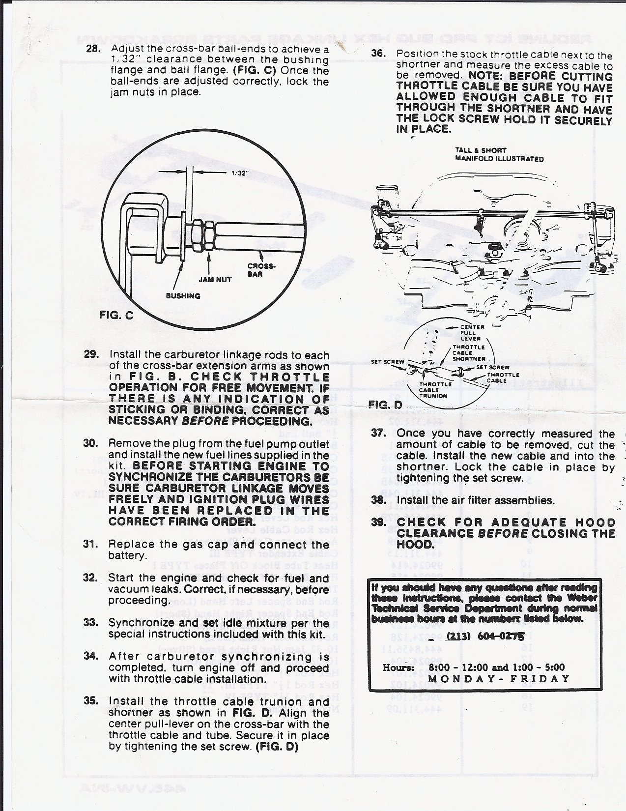 Weber 32 36 Manual Ford Taurus Wiring Solution Cheap Page 27 Jeepforumcom Array Thesamba Com Dual Ict Carburetors Installation Rh