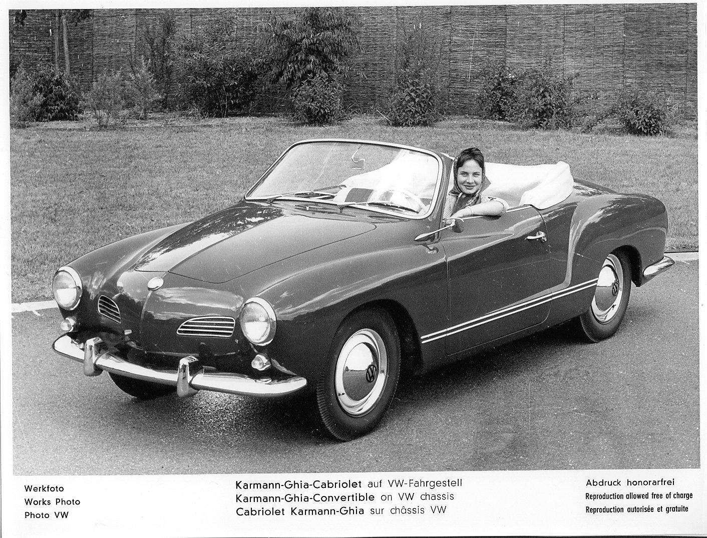 1959 Karmann Ghia Convertible