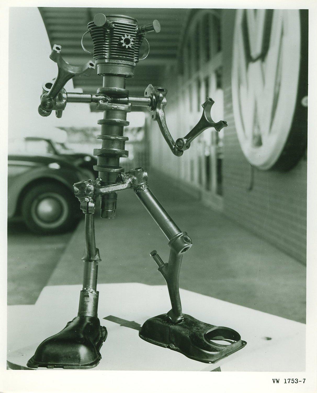 "Projecto / Construção Boneco ""mascote"" Momentosvw Vwpartsman1a"